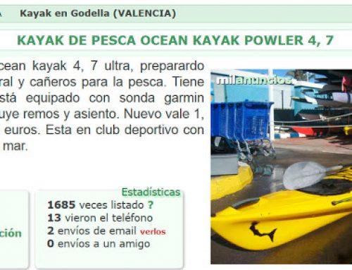 Kayaks en venta
