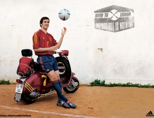 Adidas Vespa Road to Lisbon