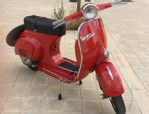 Restauración Vespa 125 Super 1967